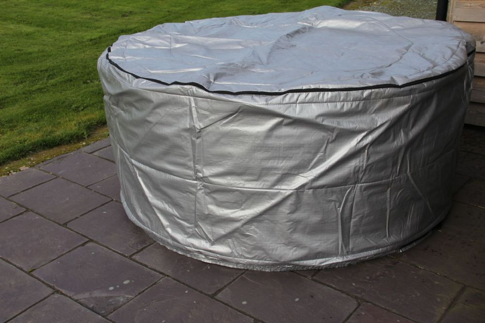 2.25m Round Mr Tubby Winterwise! Insulated UV Weatherproof HOT TUB SPA COVER